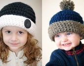 Chunky Roly Brim Hat Crochet Pattern *Instant Download* (Permission to sell all finished products)