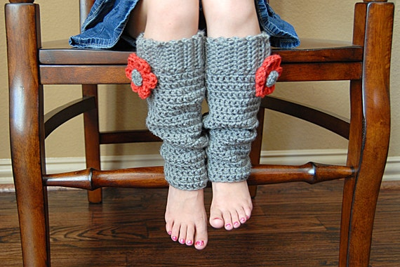 Scrunchy Leg Warmers Crochet Pattern *Instant Download* (Permission to sell all finished products)