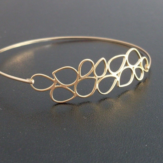 Bianca Bangle Bracelet - Gold