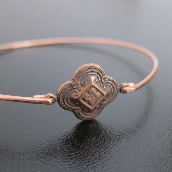 Bangle Bracelet Kailiana  - Copper