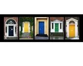 Irish Doors 5x15 photo print