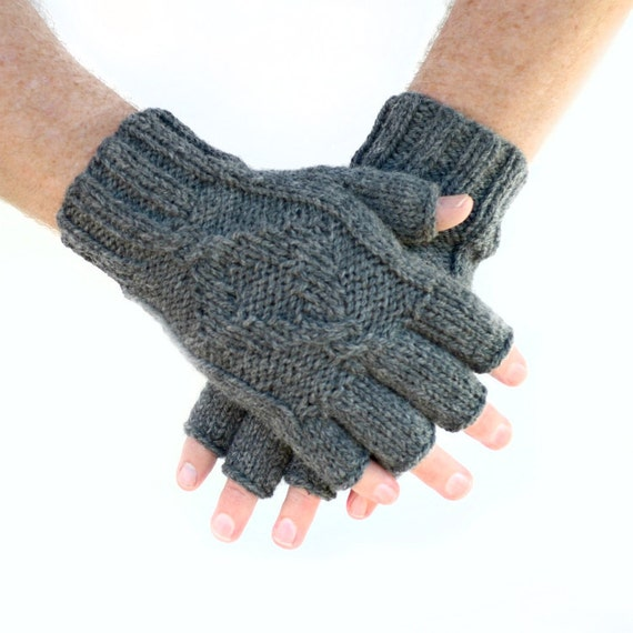 Fingerless gloves are great when the weather isn't into the supremely cold months of winter. I have a couple pair I wear in the early winter and even in the deeper winter when I know I'm not going to be out in the cold for extended periods.