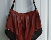Recycle YOUR OWN Leather Skirt or Leather Pants into a Beautiful Leather Handbag