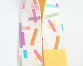 Camera Strap Cover with Lens Cap Pocket -  Washi Tape and Buttercup