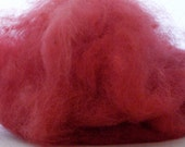 Raspberry pink natural dyed Mt d Oro wool 2 oz BW 2