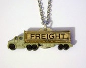 Freight Truck Necklace