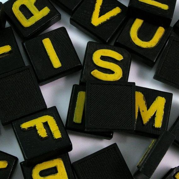 Large vintage game letters bulk lot of 20 for Bulk letters