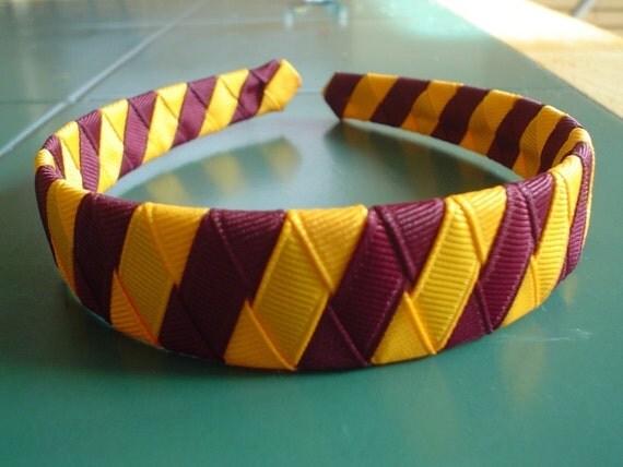 Harry Potter Inspired Gryffindor Headband