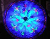 Battery powered -- Parasol --Blacklight LEDs -- Unique Parasol - RuffDreams
