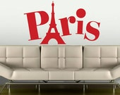 Paris Attitude wall sticker