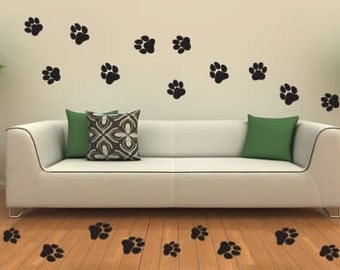 Between cats and dogs wall decals (Set of 36)