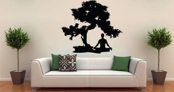 Meditation Zen wall decal