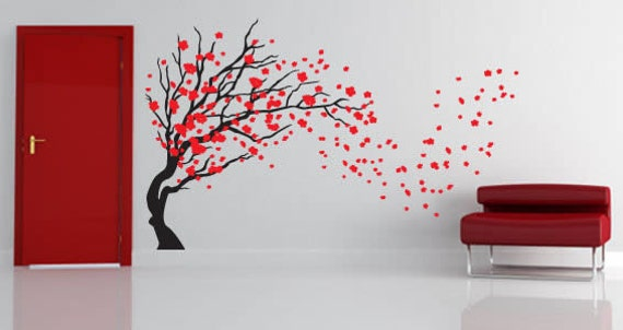 Spring Tree wall decals