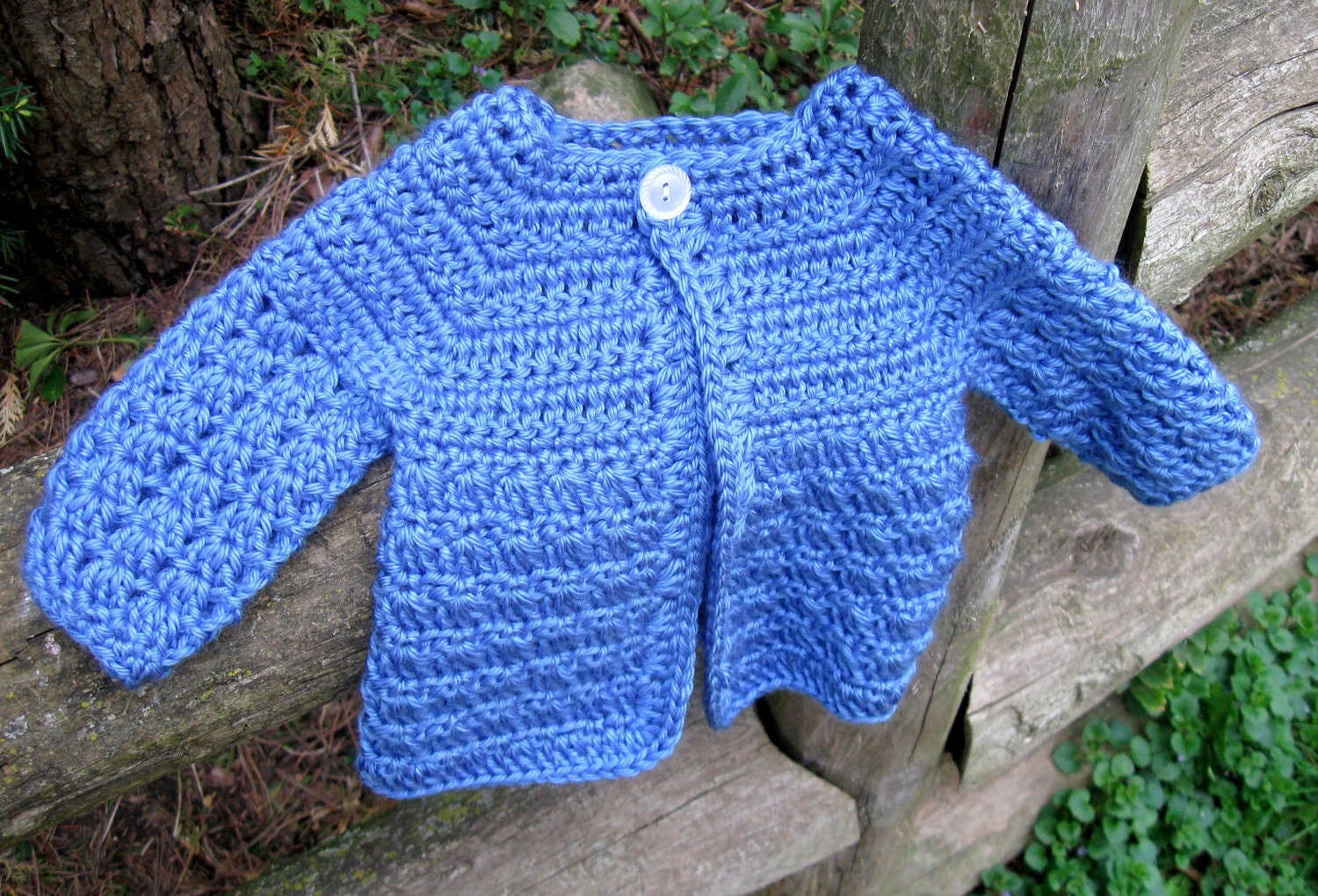Crochet Patterns Baby Boy : Crochet Pattern Baby Sweater Perfect for Boys or Girls