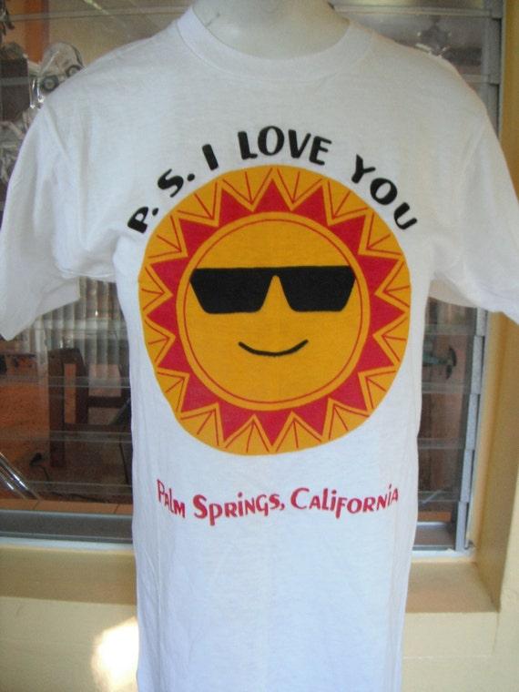 Vintage tshirt - Palm Springs California - size medium