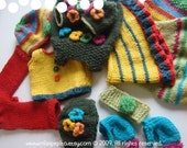 Your choice of 3 sets of Miss Pepito's clothes pdf email patterns