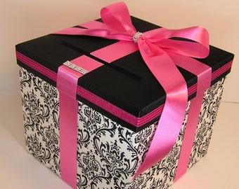 Коробка для денег на свадьбу из под обуви
