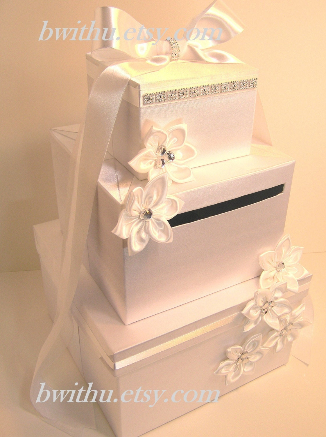 Wedding Gift Box Etsy : Wedding Card Box White Gift Card Box Money Box