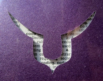 Code Geass, Geass Sigil - Custom Cut Bookmark