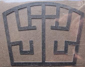 Final Fantasy VII SOLDIER Symbol - Custom Cut Minimark