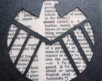 S.H.I.E.L.D. Emblem - Custom Cut Bookmark
