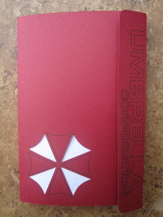 Resident Evil's Umbrella Corp - Mini Motif Notebook