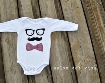 i  heart nerds... a baby onesie