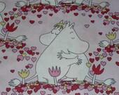 Moomin fabric Love Moomin