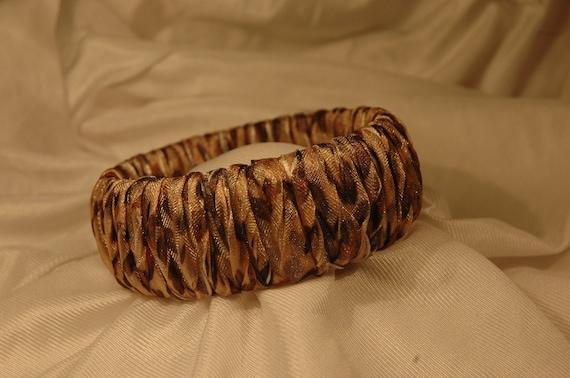 Leopard Twist Bangle