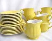 Lemon Federalist Ironstone...25 pieces of Sunshine for your table