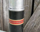Vintage Thermos Bottle with Cup - TheFrontHouse