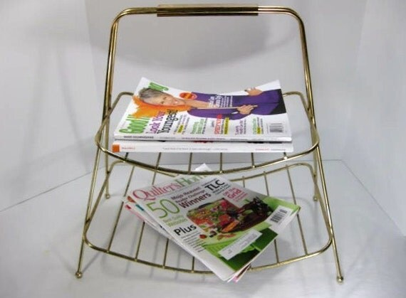 Wire Magazine Rack ... Newspaper Rack ... Kindling Rack