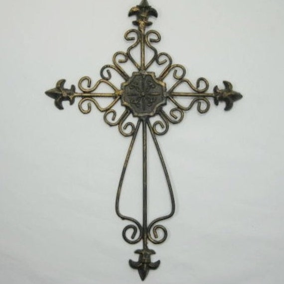 Cross ... Metal ... Wall Art