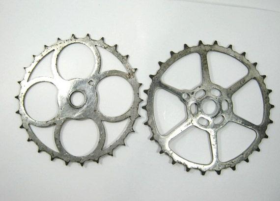 Vintage Bicycle Crank Sprockets