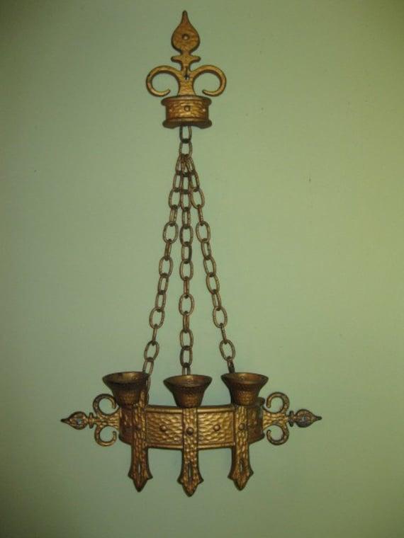 Vintage Wooden Ottoman