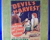 Devil's Harvest Wooden Sign