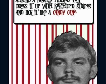 Jeffrey Dahmer Holiday Card