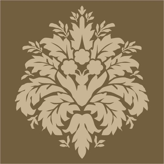 Items similar to maison de stencils for painting wood - Painting with stencils on wood ...
