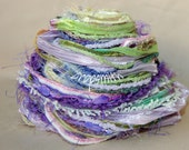 Lavender Fields ... 30 Yards of Smelly --- wait, that's not right --- Fabulous Fibers in a Custom Collection