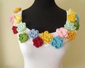 SALE...SALE...Flower Garden Pratical Coton Collar-Ready For Shipping