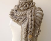 New Rapunzel Wool Scarf-Milky Brown-Fall Fashion