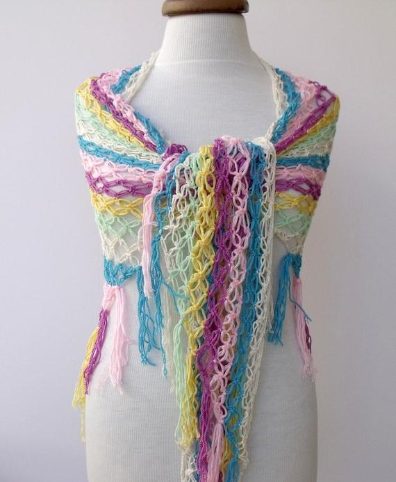 Multicolor Coton Shawl-Ready For Shipping