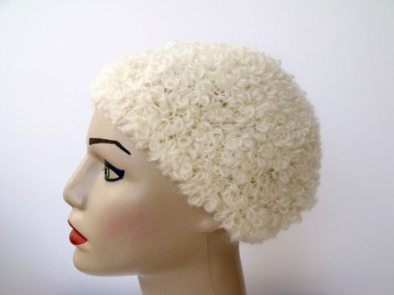 Curly  Knit Hat -Ready For Shipping-Fall Fashion-2012 Winter Trend-For Gift