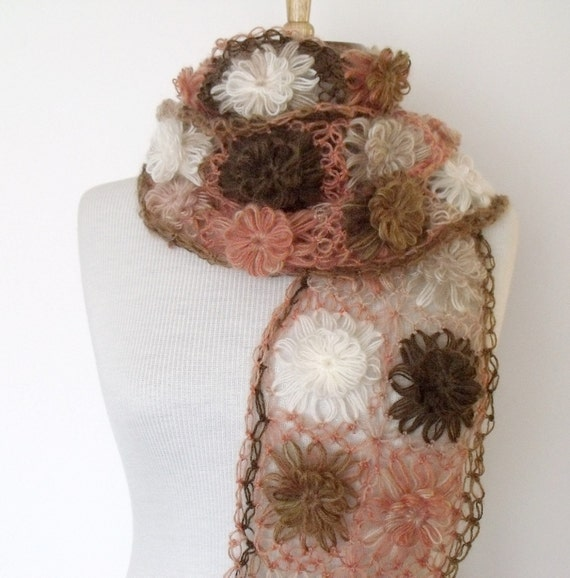 Sale...Sale...New Clove-Pink  Mohair Scarf - Ready for shipping-Fall Fashion-2012 Winter Trend-For Gift women her