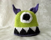 Baby Hats Knitting Knit Baby Hat Knitted Baby Hat Knitted Baby Beanie Knitted Monster Hat Halloween Baby Hat Children Clothing Monster Hat