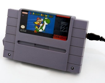 SNES Hard Drive - Super Mario World  USB 3.0