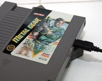 NES Hard Drive - Metal Gear - USB 3.0