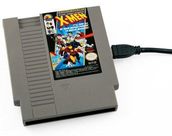 NES Hard Drive - The Uncanny X-Men  USB 3.0