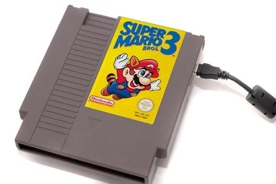 NES Hard Drive - Super Mario 3 - 1 TB USB 3.0