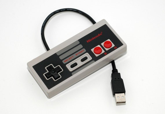 DISCOUNTED 64gb NES Controller USB Drive by 8BitMemory